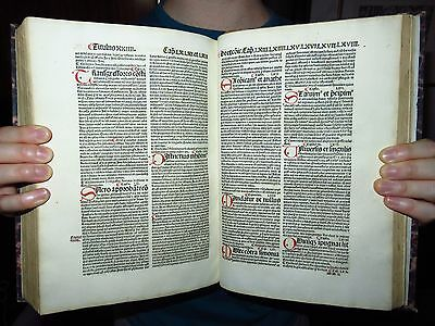 P-INCUNABLE St Antoninus RUBRICATED -Summa theologica- INQUISITION HERESIES 1506