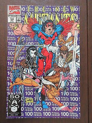The New Mutants #100 1st Appearance of X Force (Apr 1991, Marvel) *YOU GRADE IT*