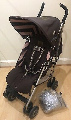 Maclaren Quest Buggy With Footmuf Seat Cover And