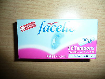 facelle 16 Tampons mini comfort