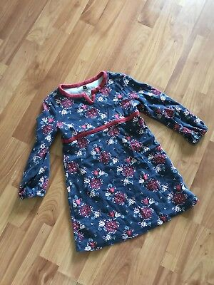Tea collection  girls cotton long sleeve dress TUNIC size 4 pheasant