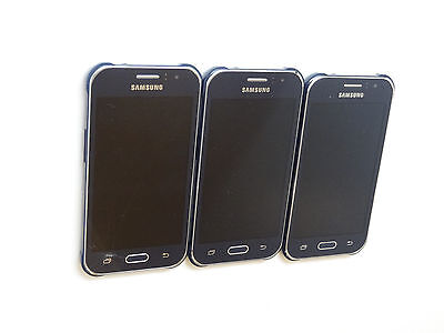 Lot of 3 Untested Samsung Galaxy J1 Ace SM-J110M Smartphones AS-IS