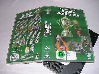 The History Of The Rugby World Cup (1999) Vhs Pal Video