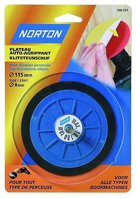 Norton Norgrip Drill Back-Up Pad Spindle 8 mm Diameter 127 mm