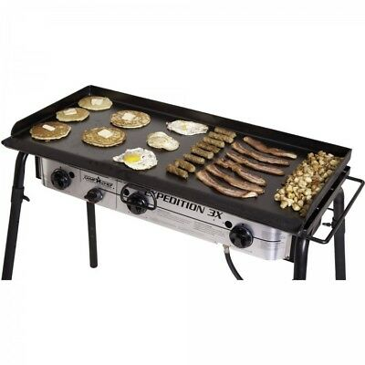 Grill Griddle Outdoor Portable Heavy Duty Steel Flat Top Professional Restaurant