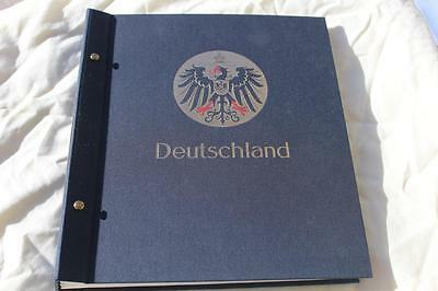 Stamp Album Davo German 1872 - 1945, 580 Stamps Included Rare Collection