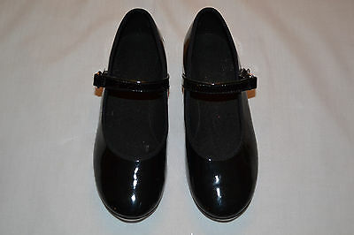 ABT American Ballet Theater Tap Dance Shoes Black 11.5 (Toddler)