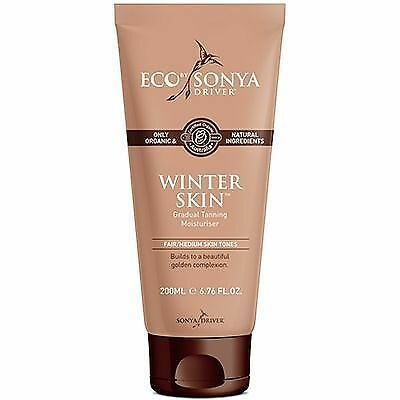 ECO BY SONYA Winter Skin Hydratant Autobronzant Peaux Claires 200ml