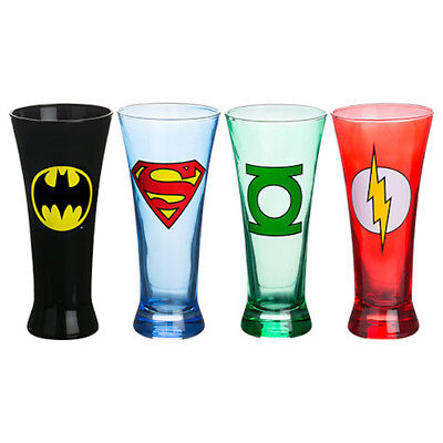 Superhero Glasses Batman Superman The Flash Green lantern Logos Justice League
