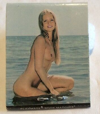 Nude Playmate Model Matchbook. Impala Engineering. Front Striker Collectable.