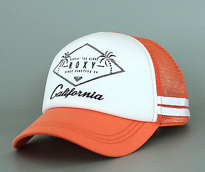 47c6bba1268 New Women s Roxy Dig This California Trucker Snapback Hat Beach Cap Surf  Foam Or