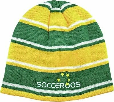 Australia Socceroos Reversible Beanie- Official Licensed Product