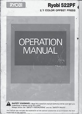 Ryobi 522 PF Operation Manual (071)