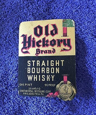 Old Hickory Whiskey Label- Philadelphia, PA!!
