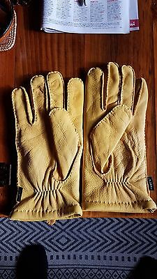 Mens Winter Leather Gloves