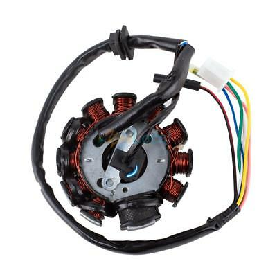 Magneto Stator 11 Coil Poles GY6 125cc 150cc  ATVs Motorcycle Scooter Moped