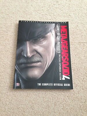 Metal Gear Solid 4 Strategy Guide