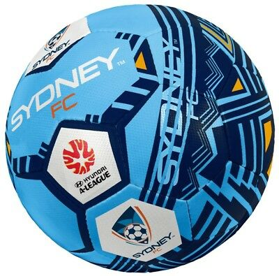 Sydney FC Soccer Ball- Size 1- 100% Official A-League Product