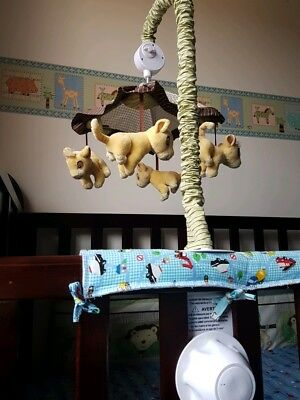 Musical cot mobile Lion king