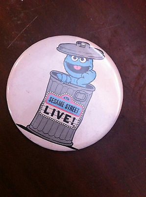 Grover Badge Sesame Street