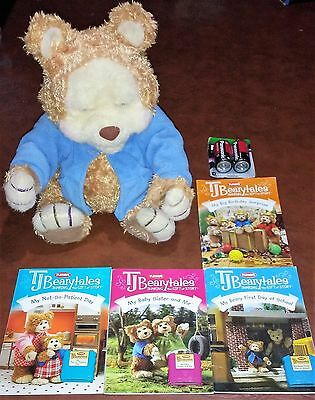 TJ BEARYTALES Bear and 4 books