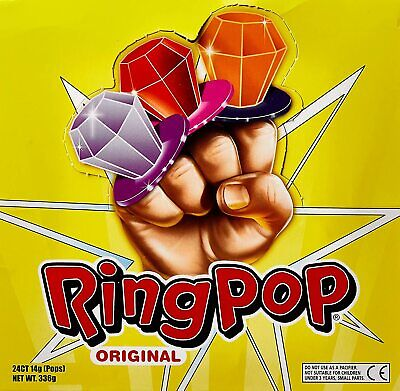 Ring Pops 24 X Lollipops Candy Lollypops Party Pink Red Purple Ect Lollies