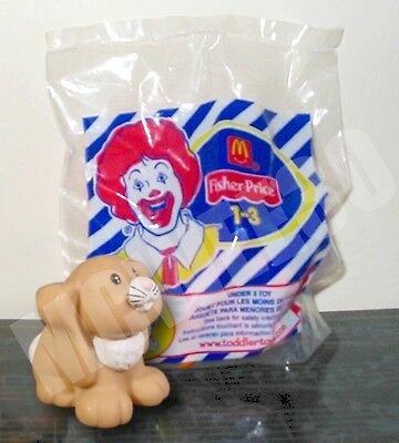 BNIB Fisher Price Little People MCDONALDS HAPPY MEAL figure RABBIT - ONE ONLY!!
