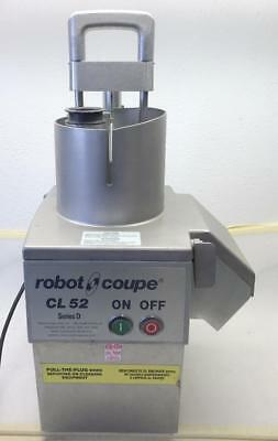 ROBOT COUPE CONTINUOUS FEED VEGETABLE PREP FOOD PROCESSOR CL52 Series D