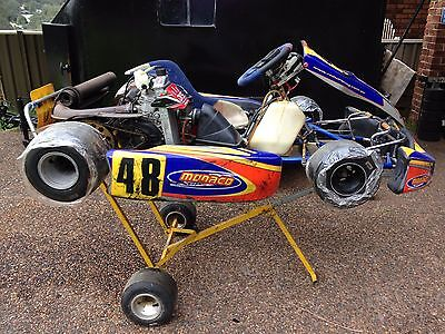 Monaco Racing Go Kart with Rotax Max