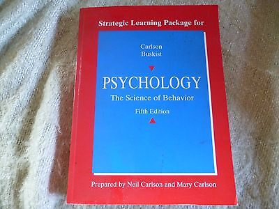 Psychology, the science of behaviour by Carlson Buskist