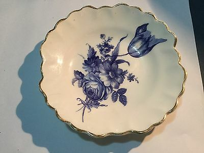 Royal Adderley Pin Dish - English - Blue Floral