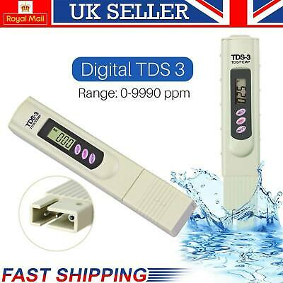 New Digital Water Quality TDS Tester Purity Meter TEMP PPM Test Filter Pen Stick