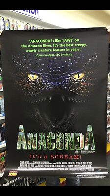 ANACONDA (1997) POSTER-ORIGINAL-27x40 Inches-New-kept in cylinder