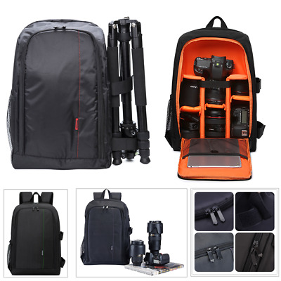 Photography DSLR Camera Backpack Shoulder Case Carry Bags for Sony Canon Nikon
