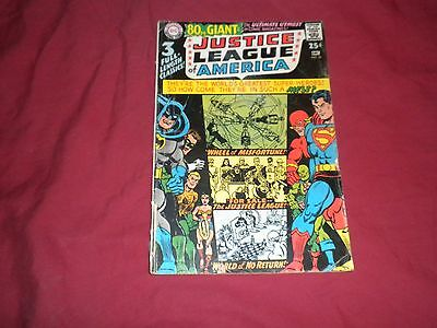 Justice League of America #58 dc 1967 silver age 1.0/fr comic!!!!!