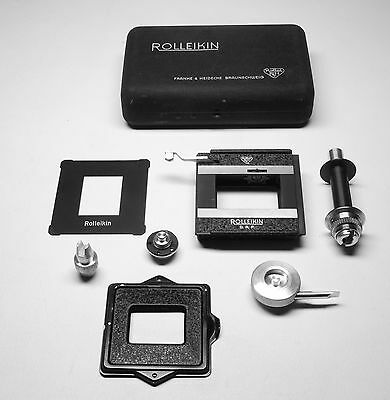 Rollei Rolleikin 35mm Adapter Kit with Counter