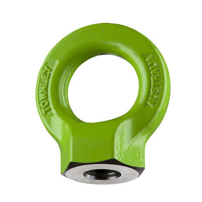 NEW industrial lifting equipment M20 Grade-8  Hi-Tensile Eye Nut: WLL: 6.0 Tonne