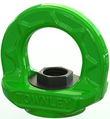 NEW industrial lifting equipment M24 Grade 100 Swivel Eye Nut - WLL: 8.0 Tonne