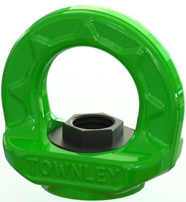 NEW industrial lifting equipment M30 Grade 100 Swivel Eye Nut - WLL: 12.0 Tonne