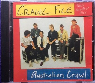 Australian Crawl - Crawl File (Rare CD Australian 80s Rock Best Of)