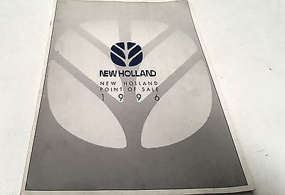 1996 NEW HOLLAND TRACTORS POINT OF SALE Brochure