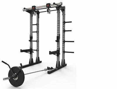 We R Sports Commercial Half Power Crossfit Rack Swivel Chin Handles Home Gym