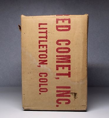 Red Comet Fire Extinguisher Box Only