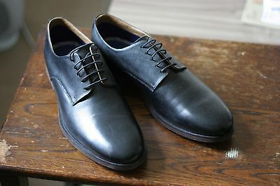 bnwot matalan soleflex black leather formal shoes size 10