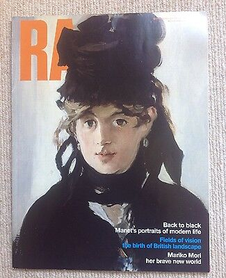 Royal Academy Magazine With Manet Cover - No.117 Winter 2012