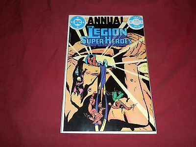 Legion of Super-Heroes Annual #3 dc 1984 copper age 7.0/fn/vf comic! Cmbn ship!