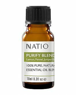 Natio purify blend essential oil  100% pure and natural 10ml