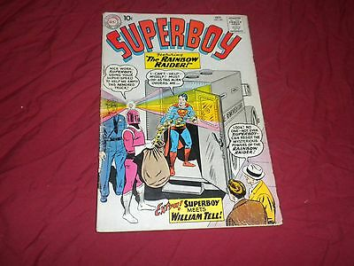 Superboy #84 (Oct 1960, DC) silver age 4.5/5.0 comic!!!!