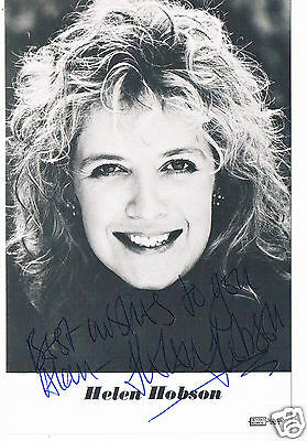 Helen Hobson Actress  Hand Signed Photograph  6 x 4
