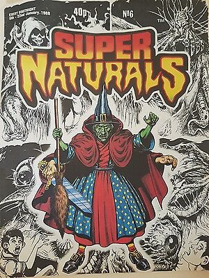 Super Naturals comic No6 Very Rare